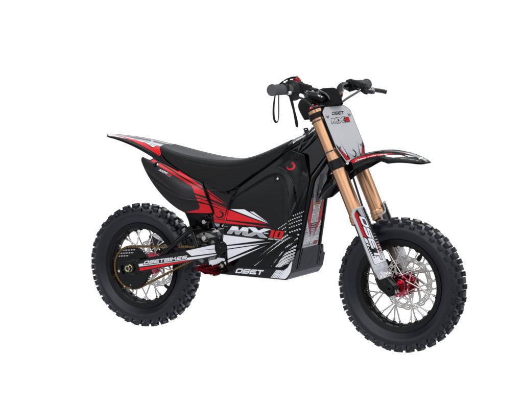 MX-10 (ages 4 - 7) - OSET Electric Bikes - Trials / Dirt