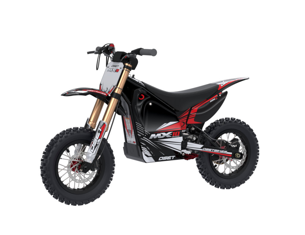 MX-10 (ages 4 - 7) - OSET Electric Bikes - Trials / Dirt