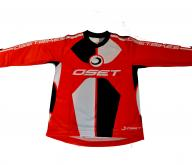 OSET Riding Jersey 'PRO' Range (Red)